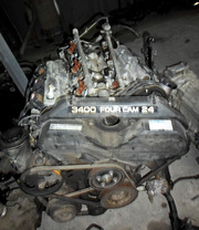 Двигатель  5VZ-e на Toyota Land Cruiser Prado 95